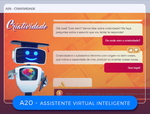 A20 – ASSISTENTE  VIRTUAL INTELIGENTE