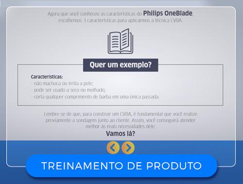 TREINAMENTO DE PRODUTOS