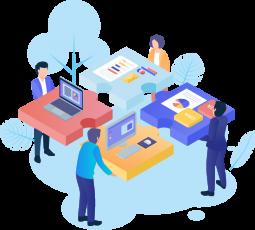 Equipe especializada para definir as regras de negócio da sua plataforma;