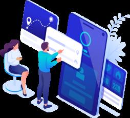 Aplicativo mobile para gestores e colaboradores;
